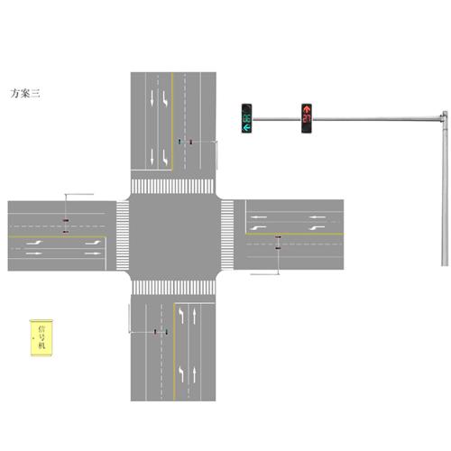 智能交通信号机设计图设计方案三