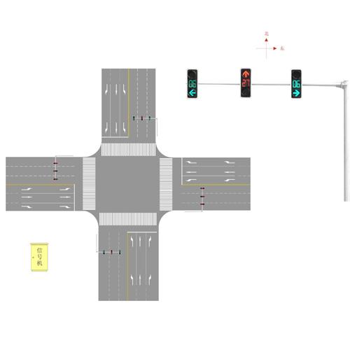 智能交通信号机设计图