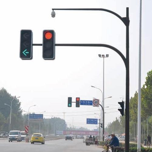 交通信号灯生产厂家施工案例