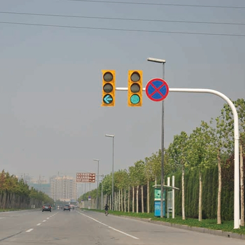 路口信号灯施工案例