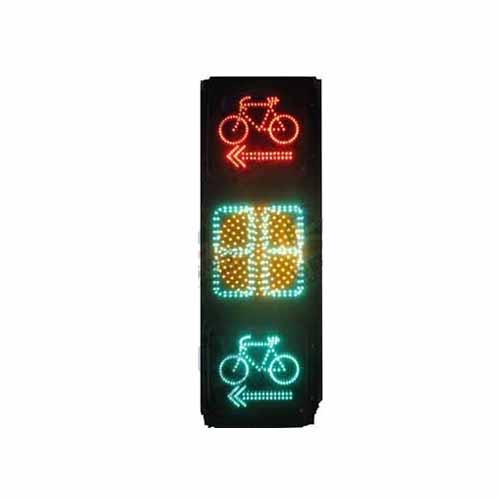 箭头非机动车计时信号灯