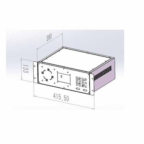 信号机壳尺寸图