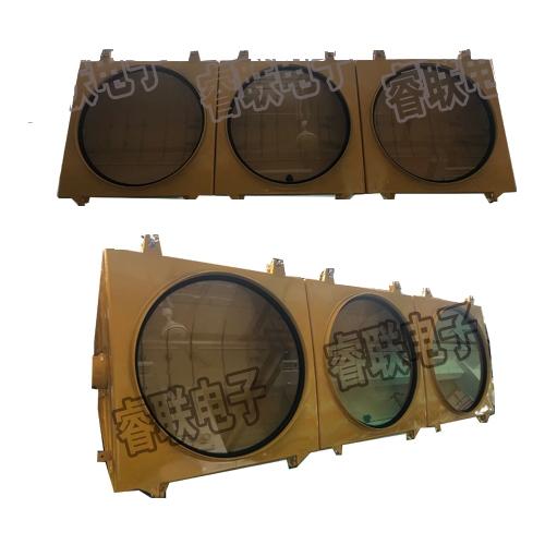 400-3压铸铝黄色灯壳