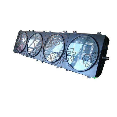 400-4压铸铝满屏三色倒计时信号灯